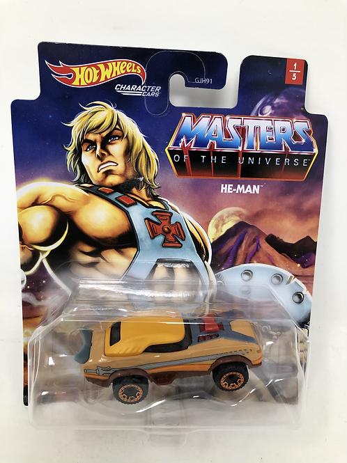 MOTU Masters of the Universe Hot Wheels He-Man