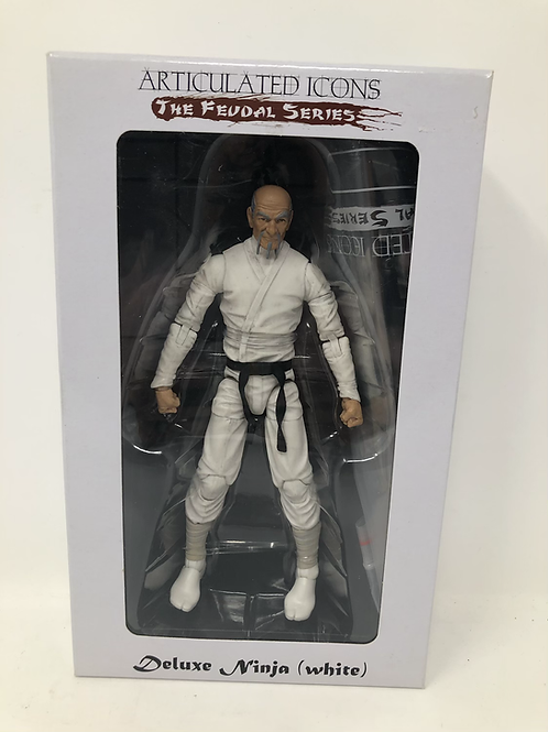 Articulated Icons Feudal Series Deluxe White Ninja Fwoosh