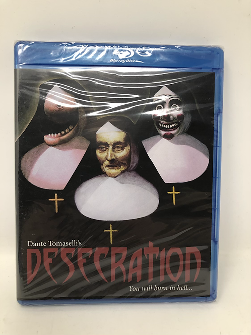Desecration New Blu Ray Code Red