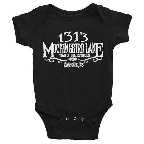 1313 MBL Unisex Short Sleeve Baby Bodysuit by Rabbit Skins