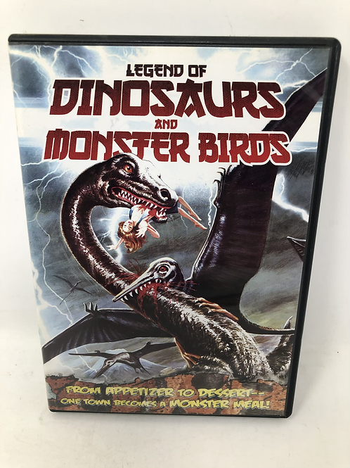 Legend of Dinosaurs and Monster Birds DVD