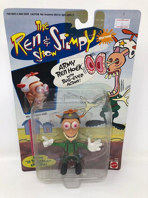 Ren & Stimpy Army Ren Hoek 1993 Mattel
