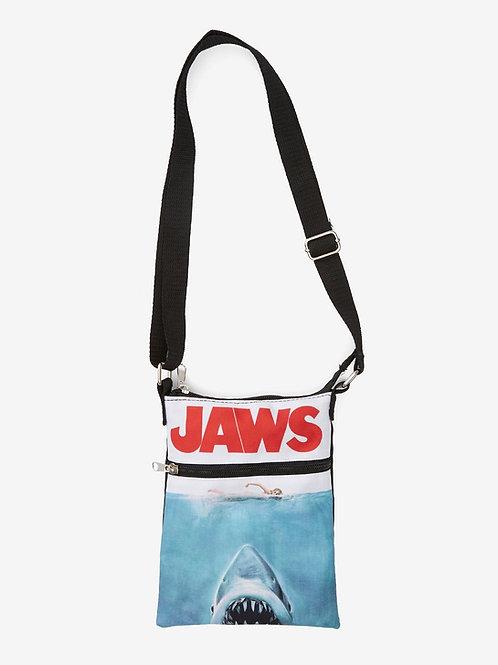 Jaws Poster Passport Bag