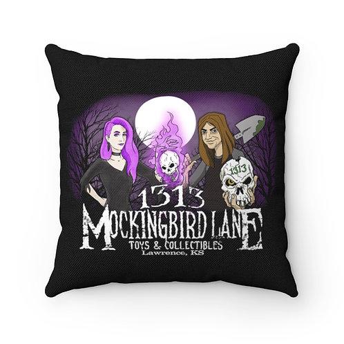 1313 Mockingbird Lane Accent Throw Pillow Home & Office