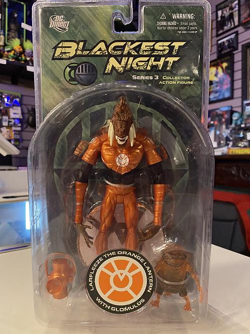Blackest Night Lafleeze Orange Lantern with Glomulus DC