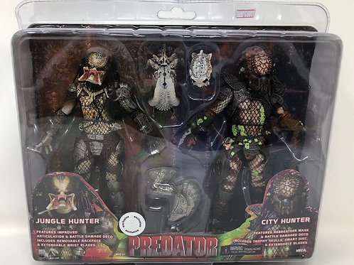 Predator 2 Pack Jungle & City Hunter Predator TRU Exclusive Neca