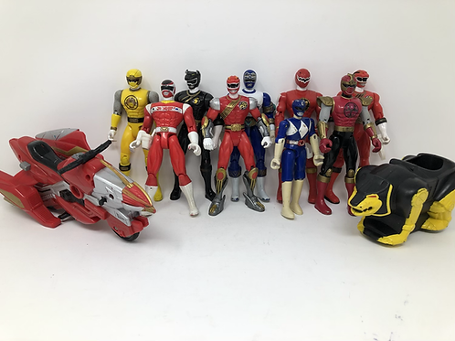 Power Rangers Figure and Vehicle lot
