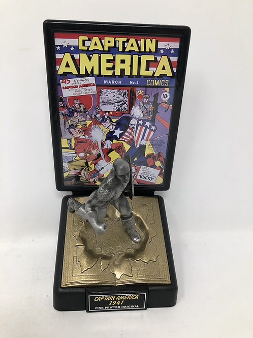 Marvel Captain America 1941 #1 Pewter Statue