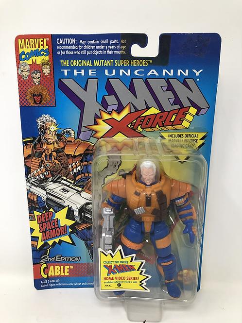 X-Men Cable Deep Space Armor Toybiz