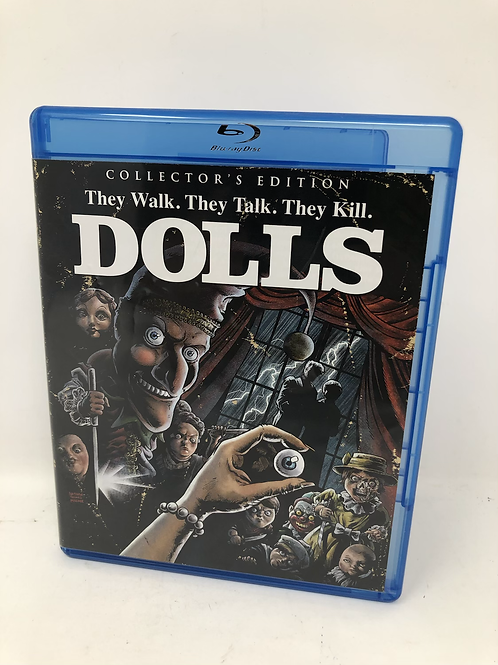 Dolls Blu Ray - Scream Factory Out of Print