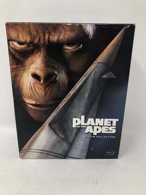 Planet of the Apes 5 Film Blu Ray Boxset