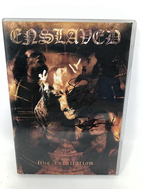 Enslaved Live Retaliation Signed DVD