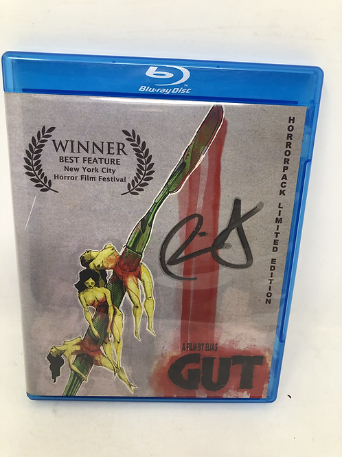GUT Signed Blu Ray Horrorpack