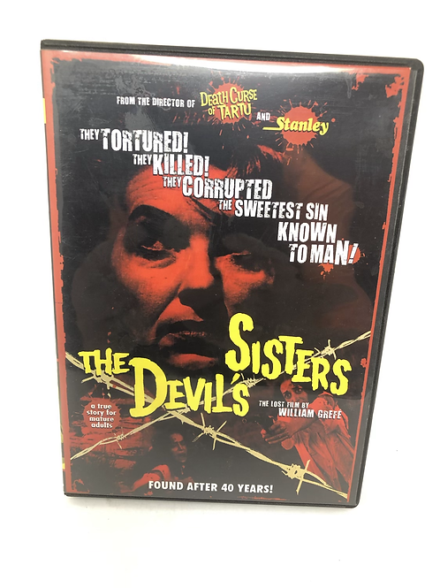 The Devil's Sister DVD William Grefe