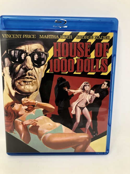 House of 1000 Dolls Blu Ray Vincent Price