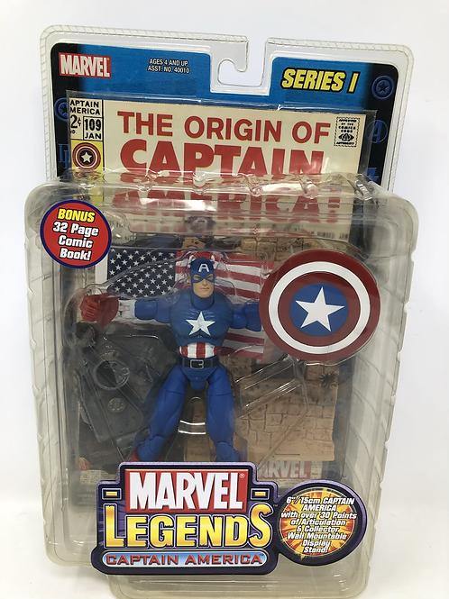 Marvel Legends Captain America Toybiz