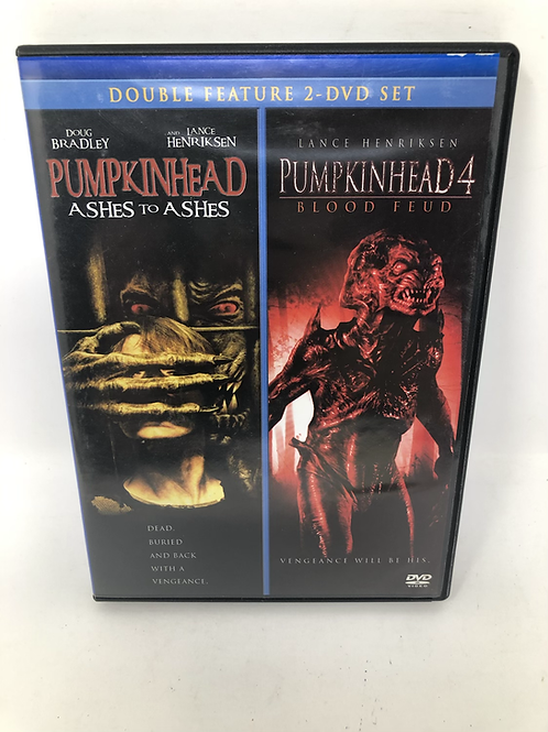Pumpkinhead Ashes to Ashes & Part 4 Blood Feud DVD Set