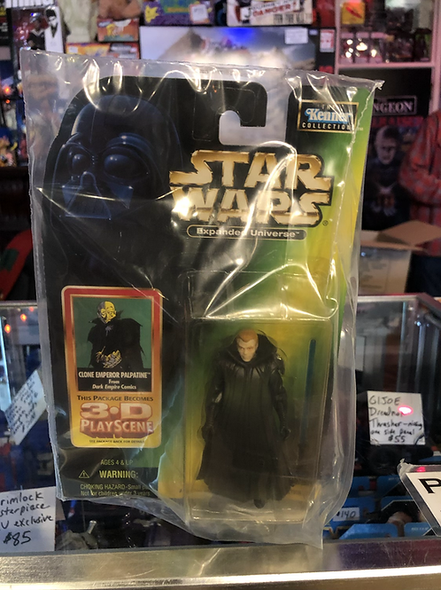 Star Wars Expanded Universe Clone Emperor Palpatine Kenner
