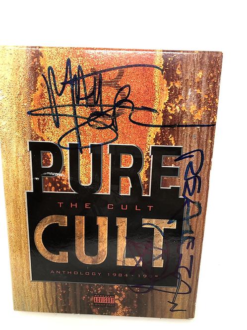 The Cult Pure Cult Matt Sorum Signed DVD