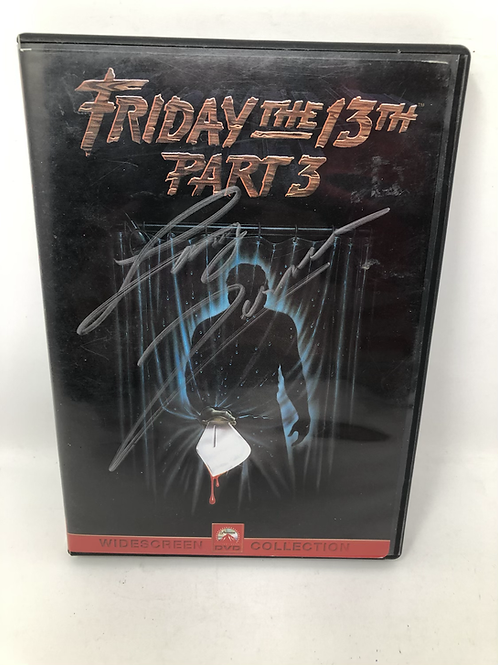 Friday the 13th Part 3 DVD Signed by Larry Zerner