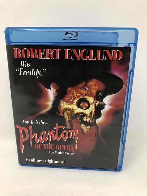 Phantom of the Opera Blu Ray - Robert Englund
