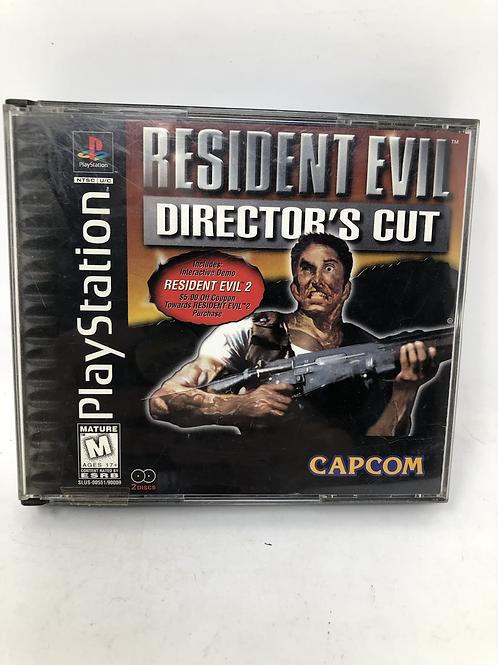 Playstation Resident Evil Director's Cut Capcom