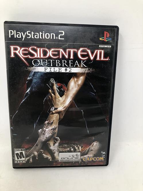 PlayStation 2 Resident Evil Outbreak File #2 Capcom