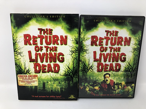 Return of the Living Dead DVD with Glow in the Dark Slipcover