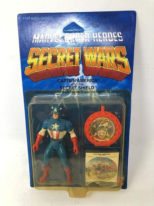 Vintage Marvel Secret Wars Captain America Mattel