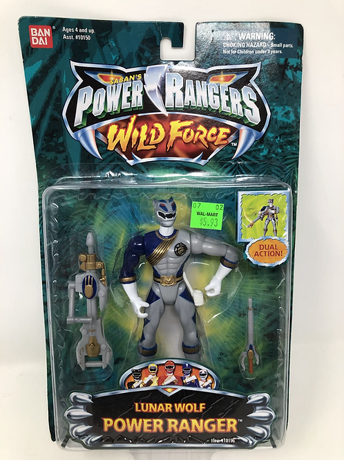 Power Rangers Wild Force Lunar Wolf Bandai