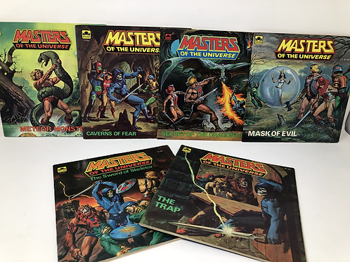 Masters of the Universe 6 Golden Books