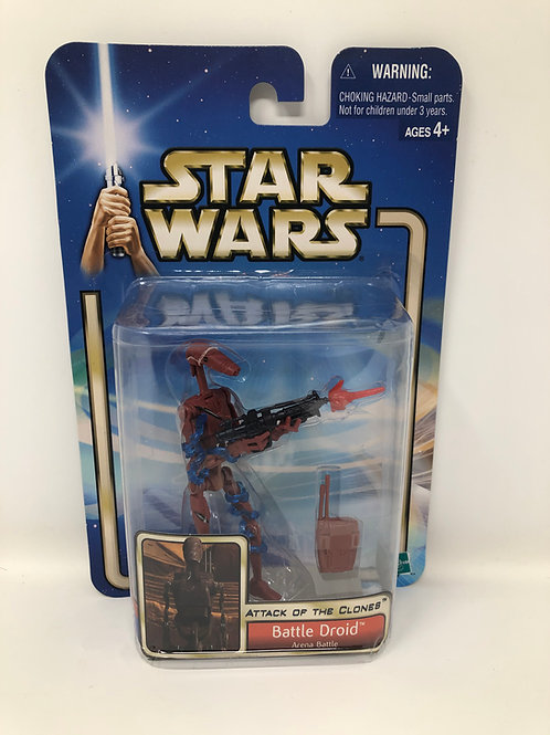 Star Wars Battle Droid Attack of the Clones Hasbro 2002