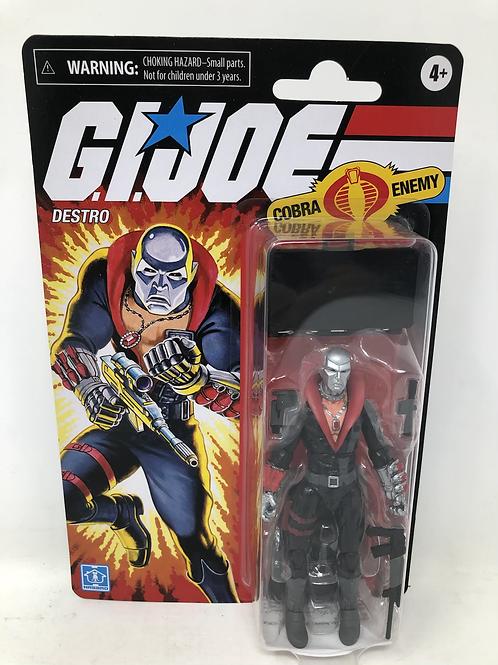GIJOE Destro Retro Hasbro