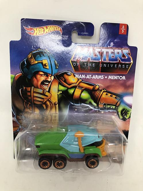 MOTU Masters of the Universe Hot Wheels Man at Arms