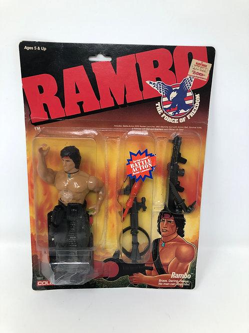 """Rambo Force of Freedom 6"""" Figure 1986 Coleco"""