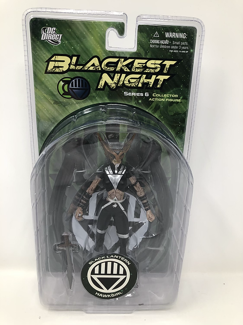 Blackest Night Black Lantern Hawkgirl