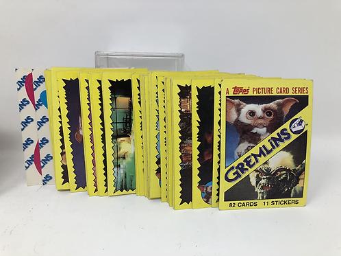 Gremlins and Gremlins 2 Topps lot Card Sets