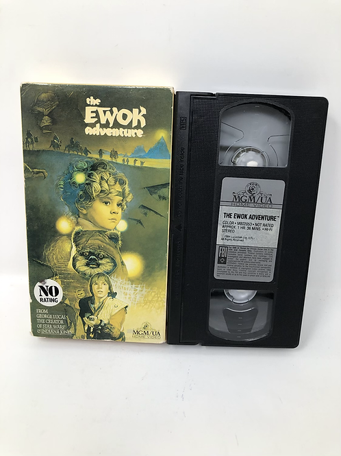 Star Wars Ewok Adventure VHS