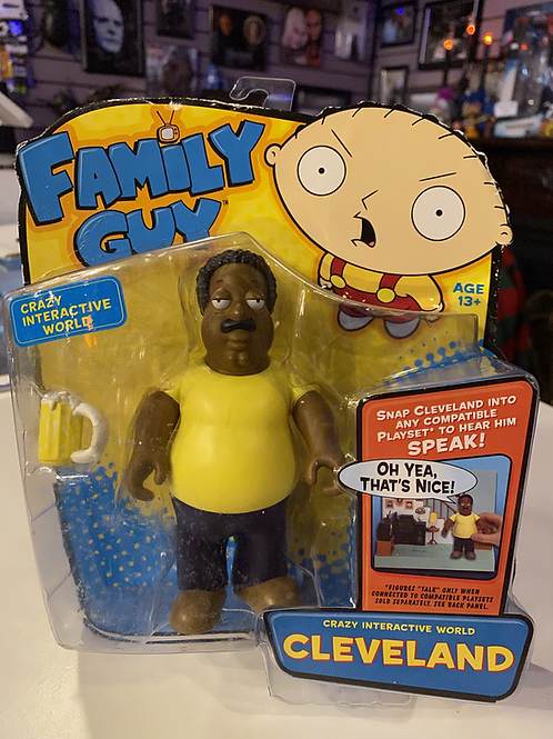 Family Guy Cleveland Interactive Playmates