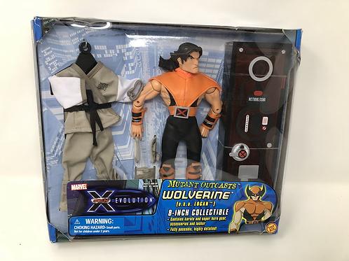 "X-Men Evolution 8"" Wolverine Mutant Outcasts Toy Biz"