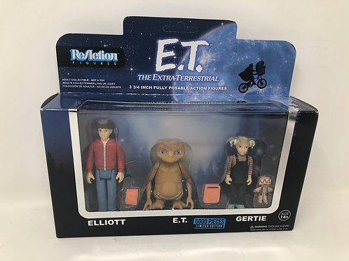 E.T. Extra Terrestrial Super7 Reaction Limited Edition