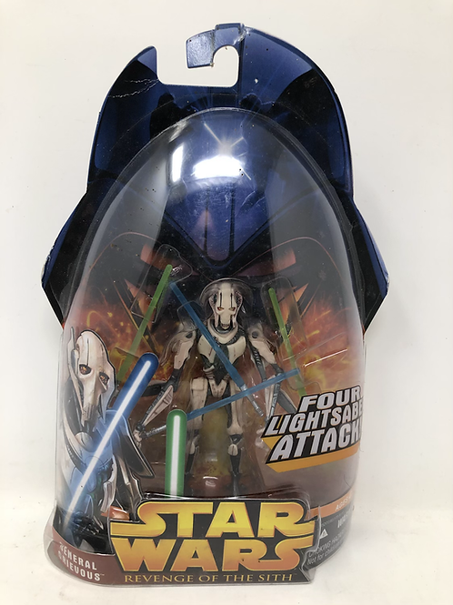 Star Wars ROTS General Grievous Saber Attack Hasbro