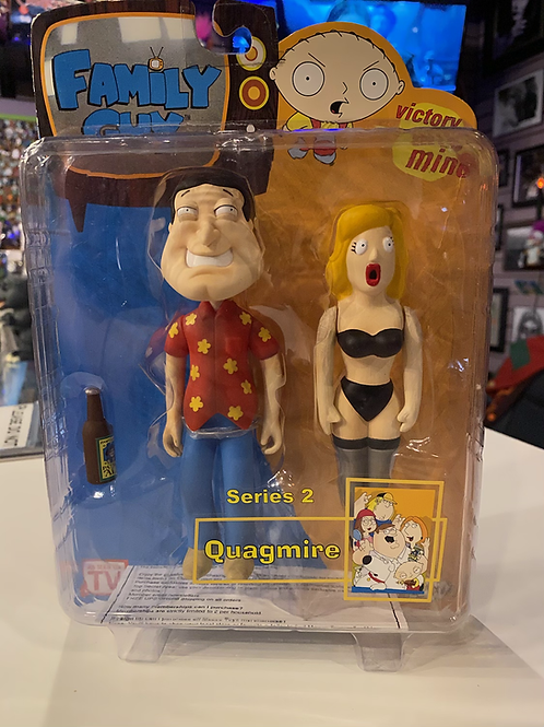 Family Guy Quagmire with Doll Mezco