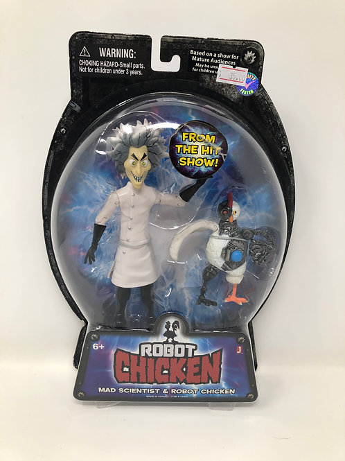 Adult Swim Mad Scientist & Robot Chicken Jazwares 2010