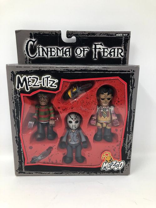 Cinema of Fear Mez-Its Freddy, Jason, Leatherface 2002 Mezco
