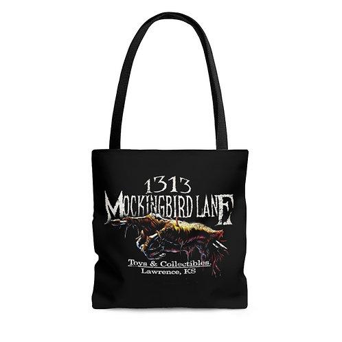 1313 Mockingbird Lane Creepy Hand Carryall Carry All Totebag Tote Bag