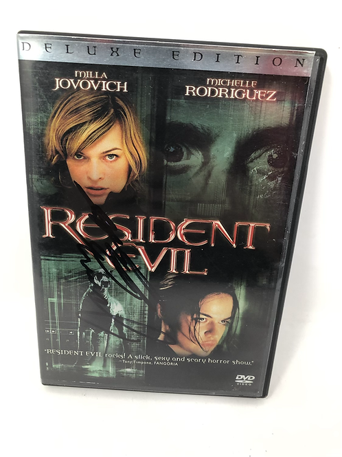 Resident Evil DVD Signed by James Purefoy