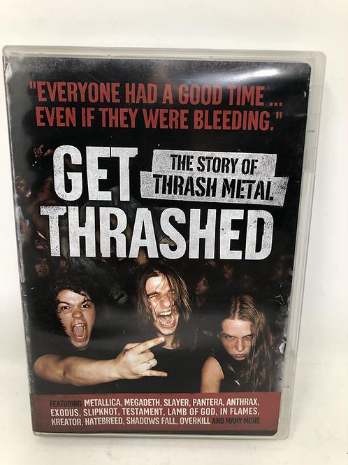 Get Thrashed DVD Story of Thrash Metal Metallica, Slayer and more