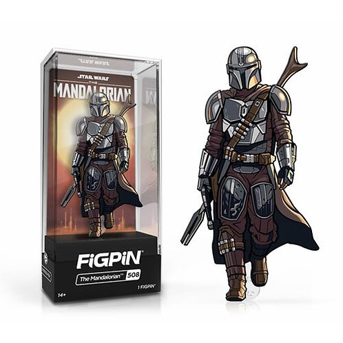 "Star Wars Mandalorian 3"" Fig Pin"