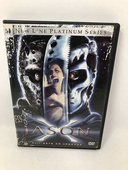 Friday the 13th Jason X DVD Signed by Sean Cunningham